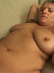 Chubby lesbians Gen Padova and Roxy Blaze play with sextoys and tease pussies in this BBW porn