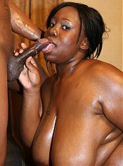 Chunky black amateur Vicki Nicole exposes her huge rack and spreading her fat pussy lips for cock